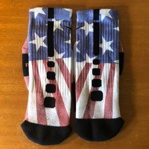 Nike Underwear   Socks - Nike Elite Custom USA American Flag Socks ... 96175077460